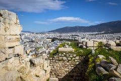Athènes d'Acropole photographie stock libre de droits