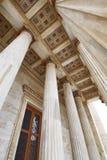 Athènes Grèce, détail de toit de l'académie nationale photos libres de droits