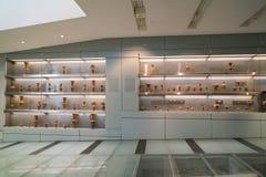 Athènes, Grèce - 15 novembre 2017 : Vue intérieure du nouveau musée d'Acropole à Athènes Conçu par le Suisse-français Photo stock