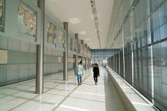 Athènes, Grèce - 15 novembre 2017 : Vue intérieure du nouveau musée d'Acropole à Athènes Conçu par le Suisse-français Images stock