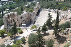 Athènes - la Grèce photos libres de droits