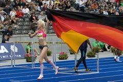 ATH: Χρυσός αθλητισμός ένωσης του Βερολίνου Στοκ Φωτογραφία