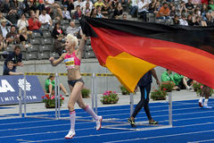ATH: Χρυσός αθλητισμός ένωσης του Βερολίνου Στοκ Φωτογραφίες