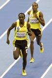 ATH: Aviva Indoor Athletics Stock Photo
