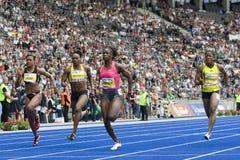 ATH: Berlińskie Złote Ligowe atletyka Fotografia Royalty Free