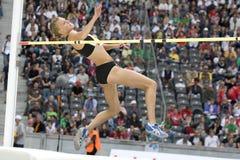 ATH: Berlin Golden League Athletics Arkivfoto