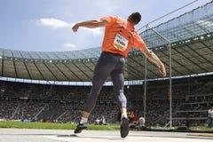 ATH: Berlin Golden League Athletics Arkivbild