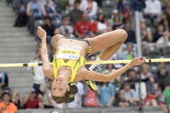 ATH: Berlin Golden League Athletics Arkivbild