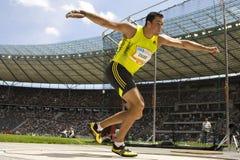 ATH: Berlin Golden League Athletics Royaltyfri Fotografi