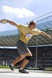 ATH: Berlin Golden League Athletics Arkivfoton