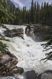 Athabasca понижается в яшму Стоковое Фото