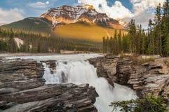Athabasca понижается в яшму Стоковое Изображение