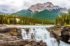 athabasca понижается держатель kerkeslin Стоковое Изображение