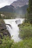 athabasca понижается над разливать реки Стоковое Фото
