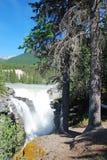 athabasca понижается текущая вода Стоковые Изображения RF