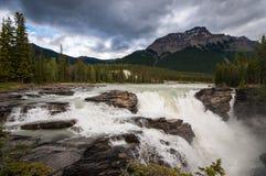 Athabasca cade in diaspro Immagine Stock