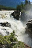 Athabasca Fall, Jasper National Park Stock Images