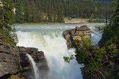 Athabasca Falls Canada Stock Image