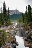 Athabasca Falls Waterfall Royalty Free Stock Photography