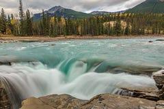 Athabasca flodnedgångar, Royaltyfri Fotografi
