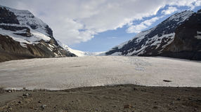 Athabasca Glacier. Off the Icefields Parkway between Banff & Jasper.  Alberta, Canada Stock Images