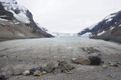 Athabasca Glacier Stock Photography