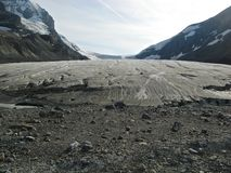 Athabasca Glacier Royalty Free Stock Photo