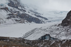 Athabasca Glacier, Canada Royalty Free Stock Photo