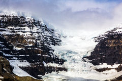 Athabasca Glacier Royalty Free Stock Photos