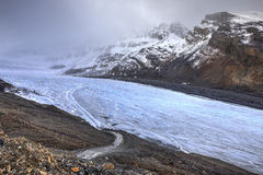Athabasca glacier, Columbia Icefields, Jasper National Park, Alberta, Canada Royalty Free Stock Image