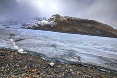 Athabasca glacier, Columbia Icefields, Jasper National Park, Alberta, Canada Royalty Free Stock Image