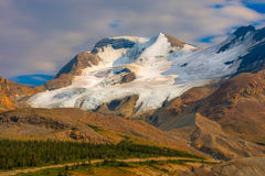 Athabasca Glacier Jasper National Park Royalty Free Stock Photography