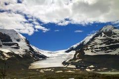 Athabasca Gletscher Lizenzfreie Stockbilder