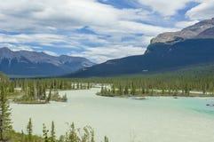 Athabasca Lake, Canada stock image