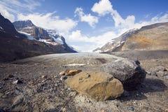 athabasca lodowiec Fotografia Royalty Free