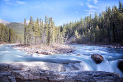 Athabasca River Royalty Free Stock Photography