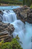 Athabasca River Falls, Royalty Free Stock Photography