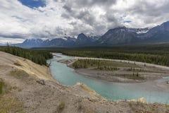 Athabasca River - Jasper National Park Stock Photos