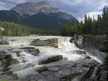 Athabasca spadki 3505 Zdjęcia Royalty Free