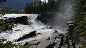 Athabasca tombe en jaspe clips vidéos