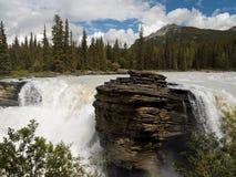 athabascaKanada falls Royaltyfri Bild