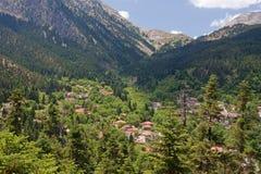 Athanasios Diakos Village Stock Photography