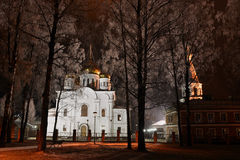Athanasius Church e Theodosius Fotografia Stock