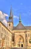 Athedral em Luxembourg fotos de stock royalty free