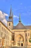 Athedral a Lussemburgo fotografie stock libere da diritti