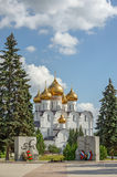Сathedral and war memorial in Yaroslavl. Russia Stock Photography