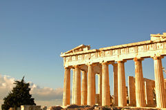Atheense Akropolis 5 Stock Foto's