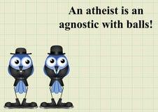 Atheism saying Royalty Free Stock Image