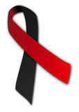 Atheist Awareness Ribbon. Royalty Free Stock Photos