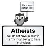 Atheist people stock illustration